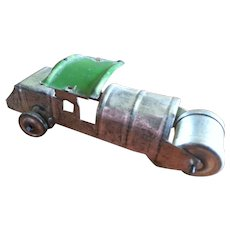 1920s Japan Penny Toy Tin Steamroller Truck