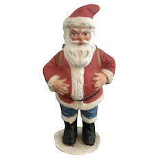 7 Inch Antique German Santa Claus Candy Container-Excellent Condition.