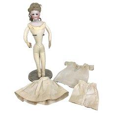 11 Inch Antique Francois Gaultier French Fashion Doll-Near Mint Body