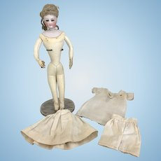 11 Inch Antique Francois Gaultier French Fashion Doll-Near Mint Body