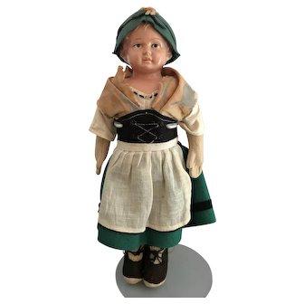 """11"""" Rheinische Gummi und Celluloid Fabrik Co Doll with Turtle Mark"""