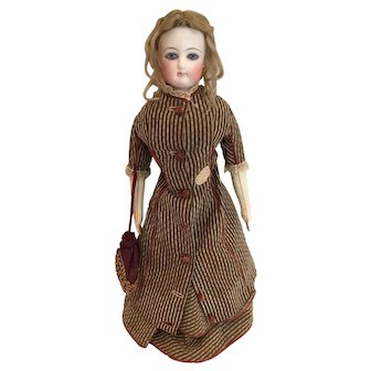 "15"" Antique Francois Gaultier French Fashion F.G. Doll"
