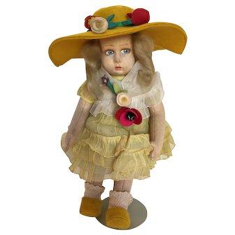 "10"" Vintage Italian 360/70 Lenci Doll ca. 1930's"