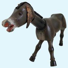 Schoenut Wood Jointed Donkey or Mule