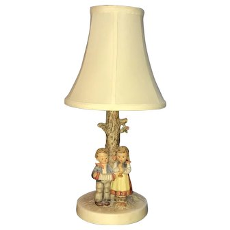 Hummel Goebel Lamp with Shade