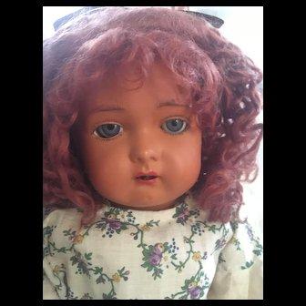Antique Doll Kammer & Reinhardt KR 406 / SS Rare Celluloid Head Composition Body Walker Doll Circa: 1909