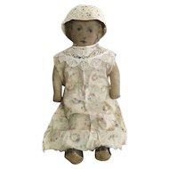 Antique Lithograph Printed Cloth Doll by Art Fabric Mills Circa: 1900