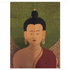 """Over sized Buddha tapestry, 24"""" x 36"""".."""