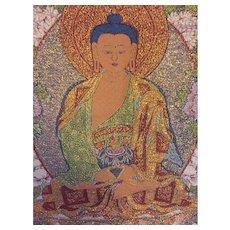 Oversized tapestry, Buddha