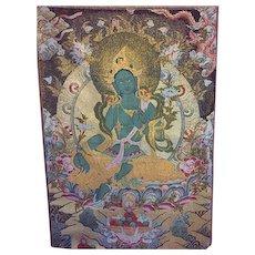 "16"" x 24"" tapestry of Buddha"