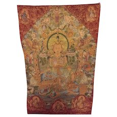 Beautiful oversized Buddha tapestry