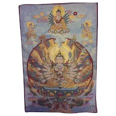 Detailed tapestry from Nepal