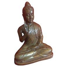 Brass Buddha..
