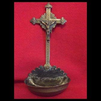 Holy water crucifix fix , 1890's