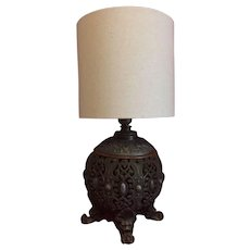 1800's B&H kerosene  lamp