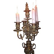 DRASTICALLY REDUCED, early1900's.., Authentic, vintage, European  candelabra..