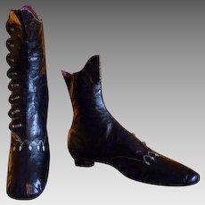 1860 Balmoral Boots, antique boots, Victorian Shoes, antique shoes, Civil war shoes, antike Schuhe