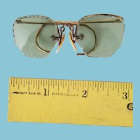 Antique doll-size glasses
