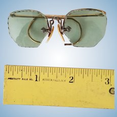 Antique doll-size glasses