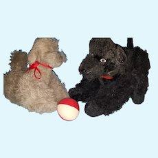 Lg Vintage Steiff Poodle