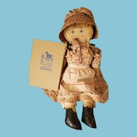 "21"" Brown Co. Portia Sperry Abigail cloth doll"