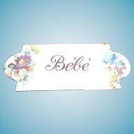 "Rare antique enamel ""Bebe"" sign"