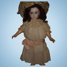 Beautiful antique pale pink doll dress for 24-27 inch doll