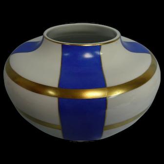 Pre-owned Limoges France Jean Louis Coquet Deco Style Vase