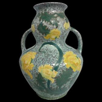 """Antique Royal Bonn Germany """"Ruysdael"""" Art Pottery Vase"""