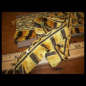 Antique silk multi tone fringe