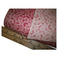 "Rare antique cotton 24"" wide yardage available"
