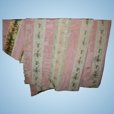 18th century cloth French fabulous for early doll dressing