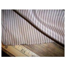 Antique silk stripe fabric small scale