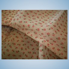 Cotton Organdy Print vintage small design