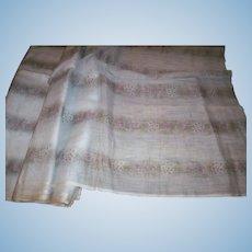 "Civil War period fabric 24"" wide pure cotton voile"