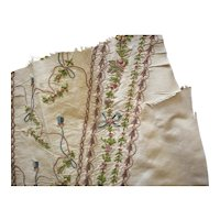 18th century cloth French fabulous for early doll dressing 1700s