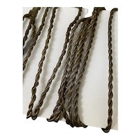 Antique twisted gold cord about 2 yds