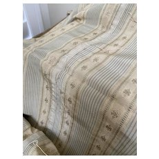 French silk very old cloth