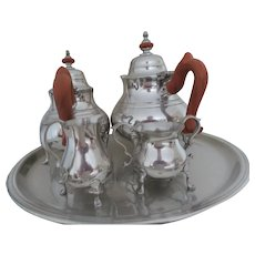 Colonial Williamsburg 5 Piece Coffee Tea Set from 1976