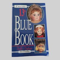 Blue Book of Doll Values 13th