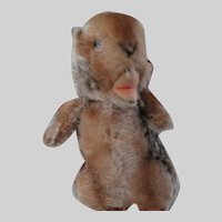 Steiff Beaver Button In Ear 7""
