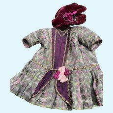 """Dress for 20"""" French Antique Doll"""