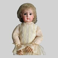 "Emile Jumeau 35"" French Bebe Closed Mouth Rare sz 16"