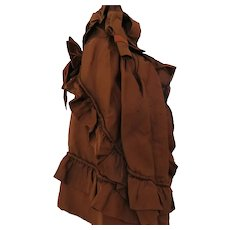 "Silk Gown for Fashion 18-20"" Doll"