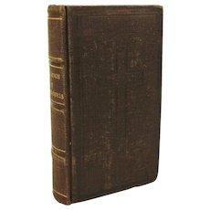 Antique 1724 Imitation of Jesus Christ Religious Book French Language