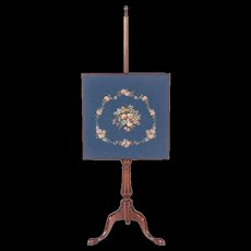 KITTINGER CW92 Williamsburg Colonial Mahogany Fire Screen