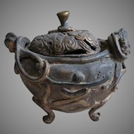 Antique Chinese Incense Burner