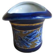 English Porcelain Match Holder