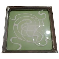 French Art Nouveau Trivet