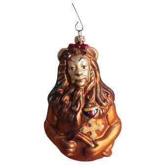 Christopher Radko Wizard Oz Christmas Ornament Cowardly Lion